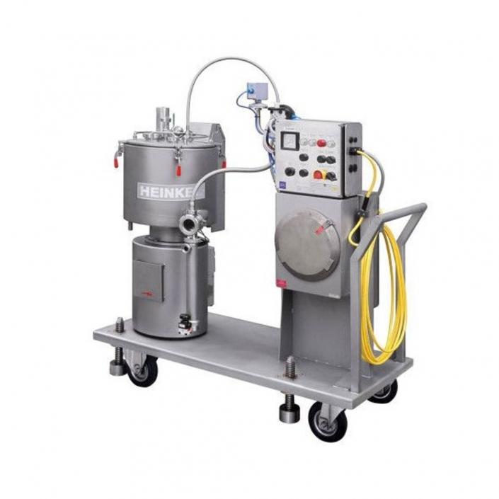 Vertikale Pilot Plant Zentrifuge Chemie
